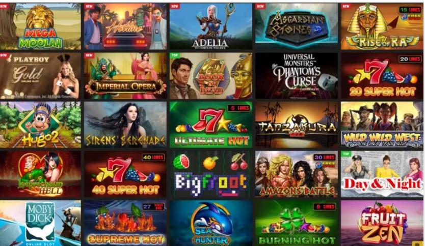 PariMatch slot machines